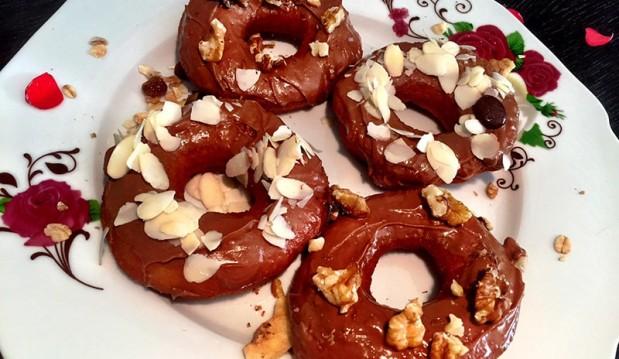 Ντόνατς με σοκολάτα ΙΟΝ, από την Αριάδνη Πούλιου και το ionsweets.gr!