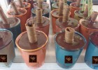 Μικρά παγωτάκια βανίλια- σοκολάτα σε σφηνάκια , από το sokolatomania.gr!