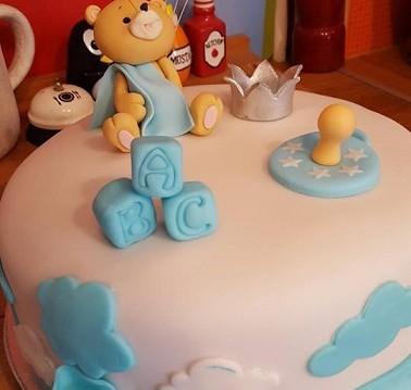Εκπληκτική τούρτα για baby shower πάρτι από τον Χρήστο Βιολατζη!