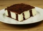 Δροσερό κέικ – πουτίγκα με κρέμα και σοκολάτα (VIDEO), από τους Χάρη και Μιχάλη Καρελάνη και το redmoon-Foodaholics.gr!