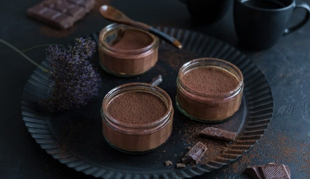 Dark Chocolate Mousse with Espresso by Jen Miller and jenreviews.com!