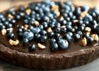 Σοκολατένια τάρτα με γκανάζ σοκολάτας, από τον Δημήτρη Σκαρμούτσο!