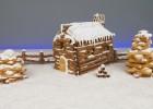 Πανέμορφο Χριστουγεννιάτικο μπισκοτόσπιτο με πουράκια(VIDEO), από τους Χάρη και Μιχάλη Καρελάνη και το Redmoon-foodaholics.gr!