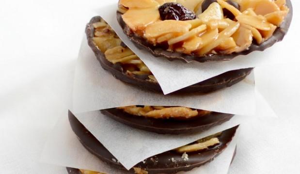 Φλωρεντίνες με κράνμπερυ και σοκολάτα, από το ionsweets.gr!