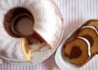Κλασικό μαμαδίστικο δίχρωμο κέικ με άρωμα πορτοκάλι, χωρίς γλουτένη, από την Βίκη Βογιατζή και το vivoglutenfree.com!