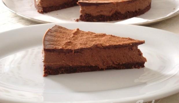 Νηστίσιμο σοκολατένιο ωμοφαγικό cheesecake ΧΩΡΙΣ ΖΑΧΑΡΗ, από την Βίκυ και το veganinathens.com!