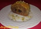 Μπακλαβάς ρολό με ξερά φρούτα, από τον Παναγιώτη Θεοδωρίτση και το  sintagespanos-zaxaroplastiki.blogspot.com!