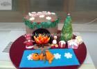 Χριστουγεννιάτικη τούρτα «Το τζάκι του Αι Βασίλη», από την αγαπημένη μας Ρένα Κώστογλου και το koykoycook.gr!