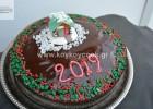 Βασιλόπιτα με κονιάκ, φουντούκια και γκανάζ σοκολάτας, από την αγαπημένη μας Ρένα Κώστογλου και το koykoycook.gr!
