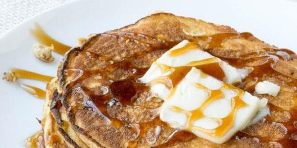 Pancakes με 4 υλικά και χαμηλούς υδατάνθρακες, από το glykouli.gr!