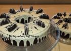 Σοκολατένιο κέικ με oreo cookies, από την Σόφη Τσιώπου!