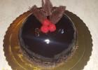 Τούρτα μους σοκολάτας σφαιρική, από τον Παναγιώτη Θεοδωρίτση και τις sintagespanos!