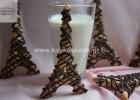 Μπισκότα βανίλιας «Πύργος του Άιφελ» με drips σοκολάτας, από την αγαπημένη Ρένα Κώστογλου και το koykoycook.gr!