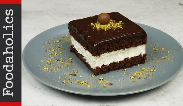 Δροσερό γλυκό ψυγείου με σοκολάτα(VIDEO), από τους Χάρη και Μιχάλη Καρελάνη και το redmoon-foodaholics.gr!