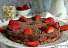Νηστίσιμη τάρτα σοκολάτα φράουλα-Chocolate strawberry tart, by The Veggie Sisters!