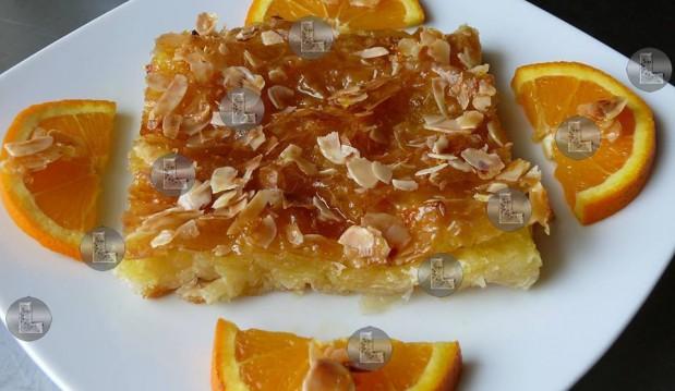 Νηστίσιμη πορτοκαλόπιτα της «L», από την Ελευθερία Μπούτζα και το «Μαγειρεύοντας με την L»!