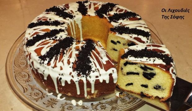 Φανταστικό κέικ βουτύρου με oreo cookies, από την Σόφη Τσιώπου!
