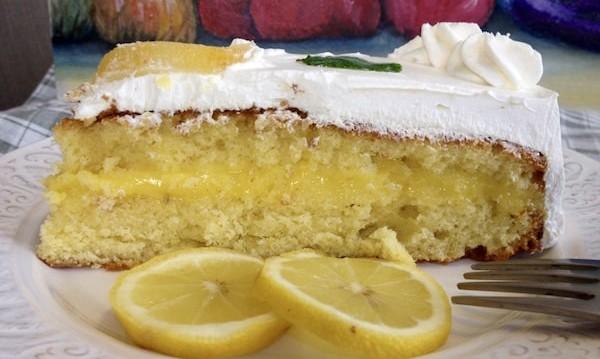 Γεμιστό κέικ λεμονιού με κρέμα λεμονιού (lemon curd), από την Μπέτυ μας και το «Taste of life by Betty»!
