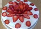 Cheesecake με γιαούρτι και φρέσκιες φράουλες , από την αγαπημένη μας Ρένα Κώστογλου και το koykoycook.gr!