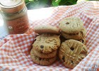 Sisinni Almond cream cookies με σοκολάτα, από την Ντίνα Καρα!