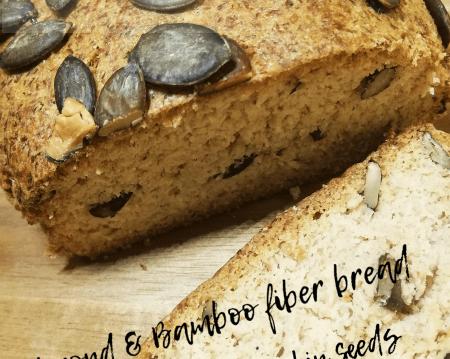 Κετογονική Διατροφή: Ψωμί άσπρο με ίνες μπαμπού και κολοκυθόσπορο, από την αγαπημένη Mika Kitrina και το ketokitchenninja.com!