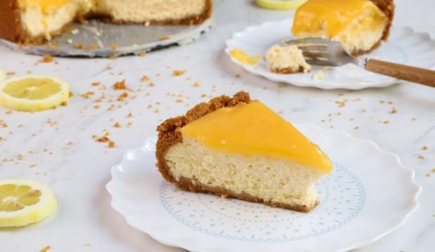 Cheesecake Λεμόνι, από τον Γιώργο Τσούλη και το giorgostsoulis.com!