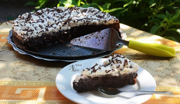 Χωρίς Γλουτένη: Τάρτα σοκολάτας με πραλίνα Sisinni, από την Ντίνα Καρα και το cuzinaglutenfree.blogspot.com!