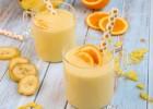 Smoothie με ανανά, μπανάνα και πορτοκάλι, από τον Γιώργο Τσούλη και το giorgostsoulis.com!