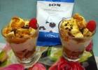 Μπανόφι με παγωτό βανίλια και σταγόνες κουβερτούρας κλασική ΙΟΝ, από τον Μιχάλη Σαράβα και το ionsweets.gr!