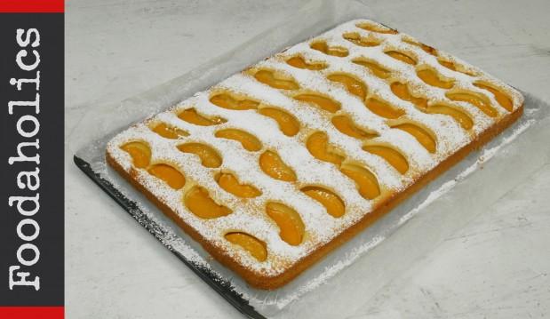 Απίθανο κέικ ροδάκινο (VIDEO), από τους Χάρη και Μιχάλη Καρελάνη και το redmoon-foodaholics.gr!
