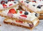 Mille feuille με λευκή σοκολάτα και φρούτα, από τον Γιώργο Τσούλη και το giorgostsoulis.com!