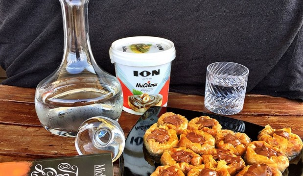 Σιροπιαστές φωλιές με Nucrema ΙΟΝ,  από την Αριάδνη Πούλιου και το ionsweets.gr!