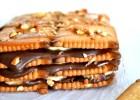 Γλυκό ψυγείου με πτι μπερ, σοκολάτα, μπανάνα και καραμέλα, από το icookgreek.com!